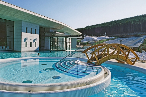 Pool area at Saliris Health Spa